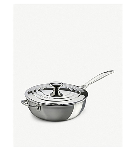 LE CREUSET Non-stick stainless steel Chef's pan 24cm