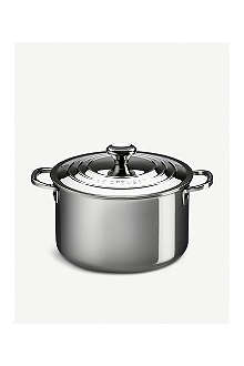 LE CREUSET Stainless steel Stockpot with lid 28cm