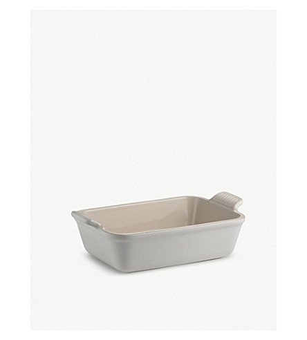 LE CREUSET 粗陶长方形深碟19厘米