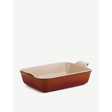 LE CREUSET Stoneware rectangular deep dish 26cm