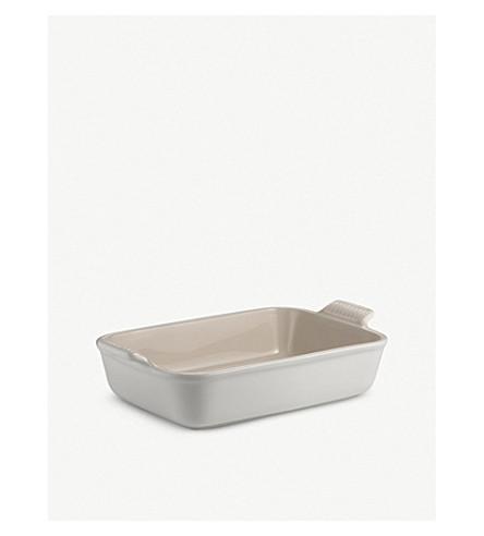 LE CREUSET 粗陶长方形深碟26厘米
