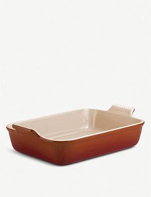 LE CREUSET Stoneware rectangular deep dish 32cm