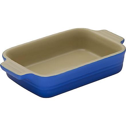 LE CREUSET Stoneware rectangular dish 18cm (Marseille+blue