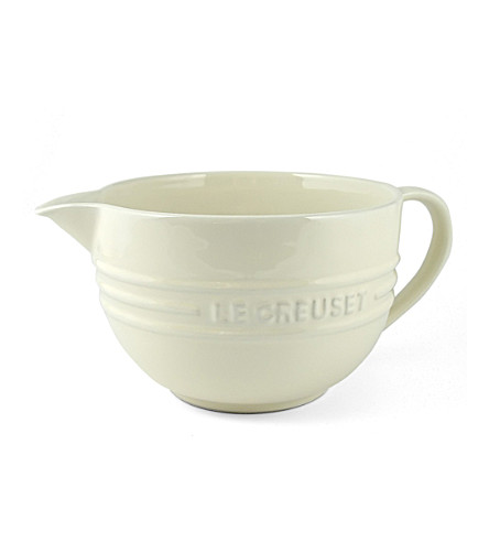 LE CREUSET Stoneware mixing jug (Almond