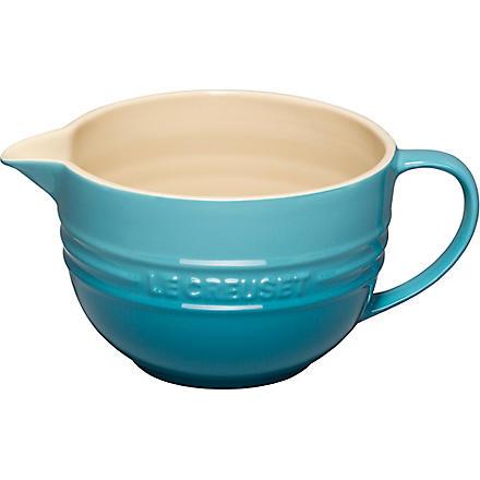 LE CREUSET Stoneware mixing jug (Teal