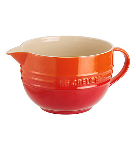 LE CREUSET Stoneware mixing jug (Volcanic