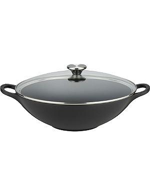 LE CREUSET Cast iron 32cm wok