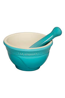 LE CREUSET Stoneware pestle and mortar