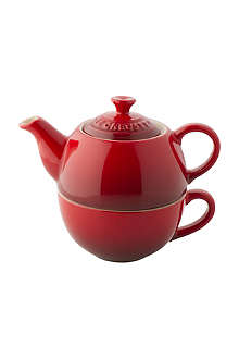 LE CREUSET Tea For One teapot and mug set