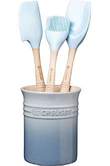 LE CREUSET Four-piece utensil set