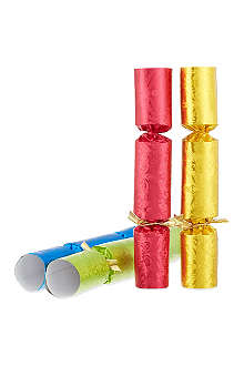 ROBIN REED Box of 8 decadence Fill Your Own crackers