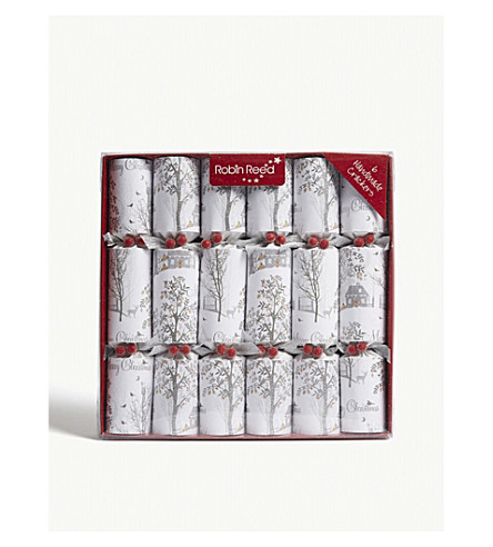 CRACKERS Winter Wonderland crackers pack of six