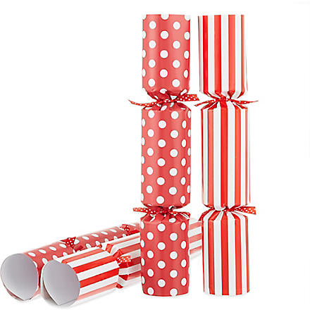 ROBIN REED Box of six Who Am I? Christmas crackers