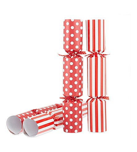 ROBIN REED Box of six Who Am I? Christmas crackers