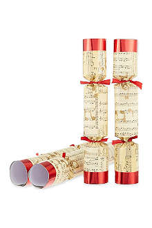 ROBIN REED Box of 8 Concerto music whistles crackers
