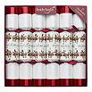ROBIN REED Box of six Racing Reindeer game Christmas crackers