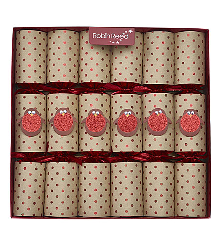 CRACKERS Racing robins crackers pack of six