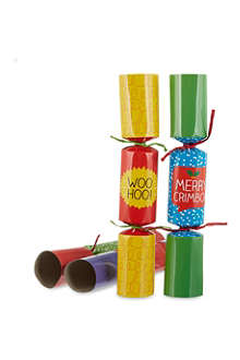HAPPY JACKSON Awesome Christmas crackers 6 pack