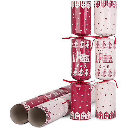 EMMA BRIDGEWATER Christmas town crackers