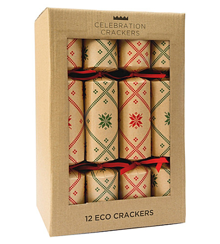 CRACKERS Nordic Eco crackers – Red and green 12