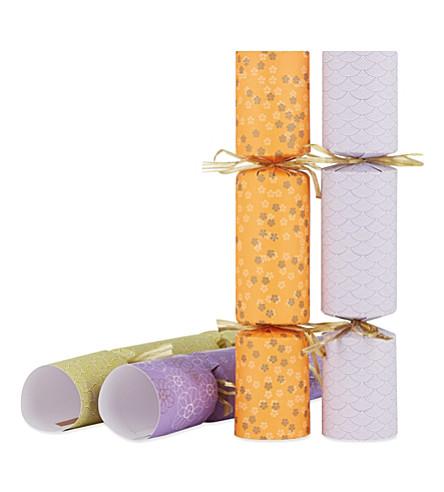 CELEBRATION CRACKERS Origami crackers box of 6