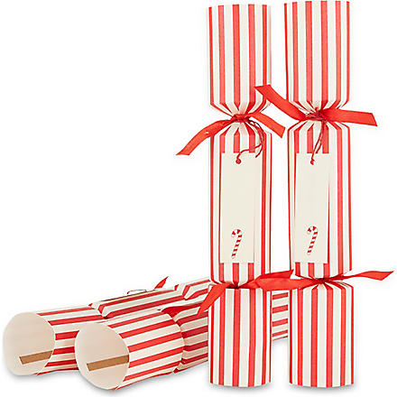 CELEBRATION CRACKERS Candy tag crackers set of six