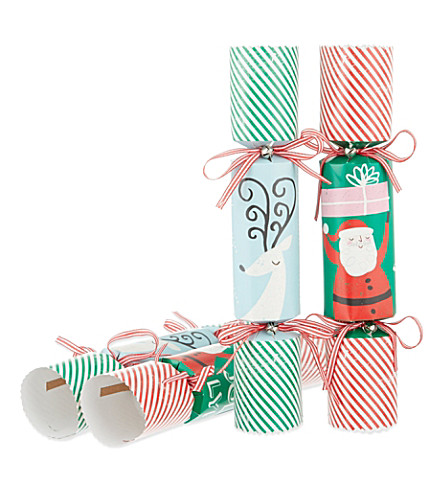 MERI MERI Jingle all the way set of 6 crackers