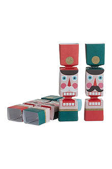 MERI MERI Nutcracker mini crackers six pack