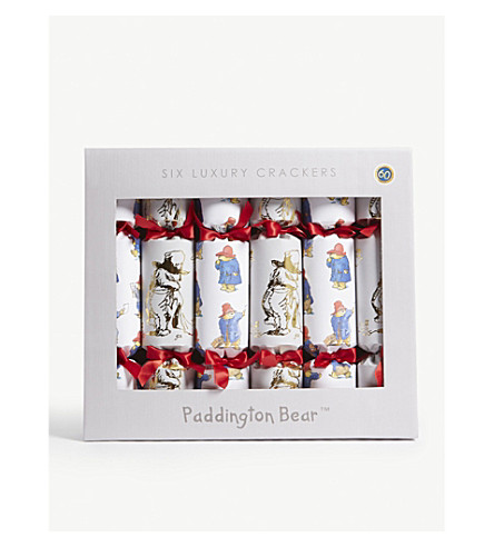 CRACKERS Paddington Bear luxury crackers set of six