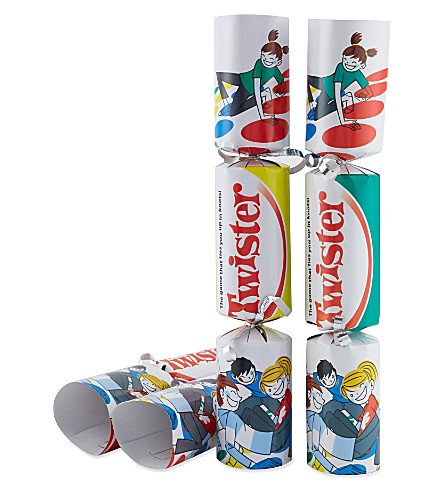 INTERNATIONAL GREETINGS 6 pack of Twister crackers