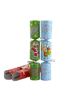 INTERNATIONAL GREETINGS Simpsons crackers 6-pack