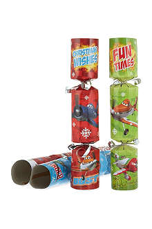 INTERNATIONAL GREETINGS Cars and Planes Christmas crackers 6-pack
