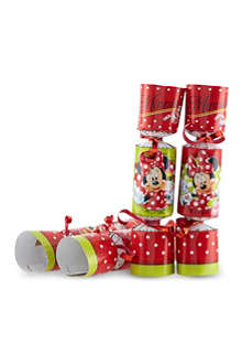 INTERNATIONAL GREETINGS 8 pack of Minnie Mouse party crackers