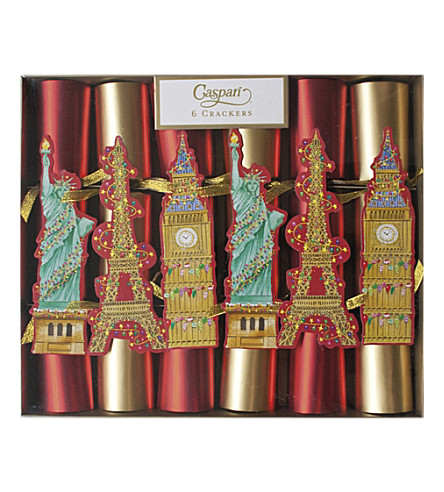 CRACKERS Pack of 6 Cities of Light crackers