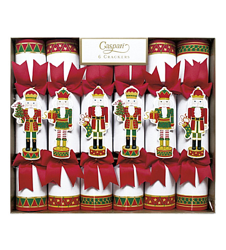 CRACKERS Pack of 6 Nutcracker Parade crackers