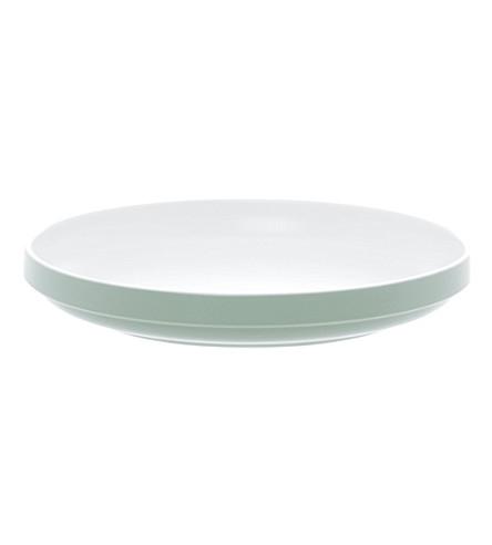 PRESENT TIME Blush Green dinner plate 27cm
