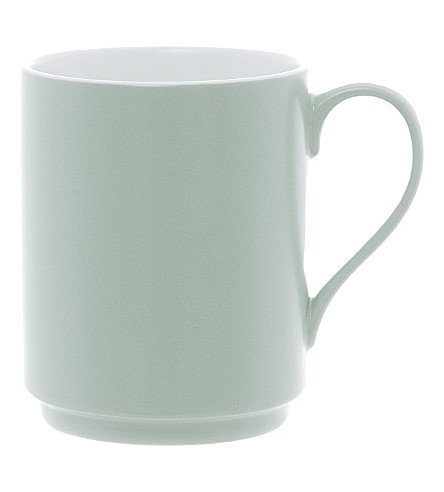 PRESENT TIME Blush Green mug