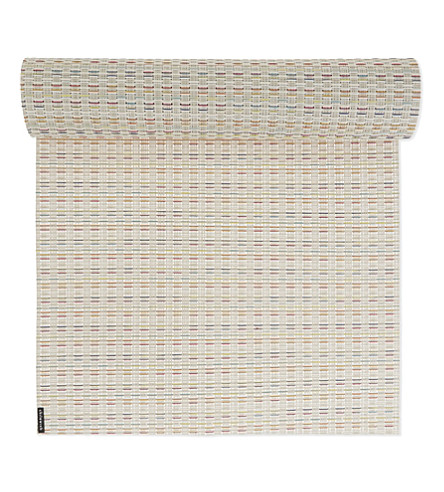 CHILEWICH Wicker Sugar table Runner 183cm