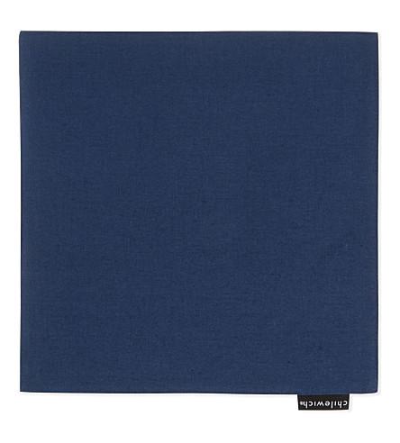 CHILEWICH Reversible linen napkin 53cm