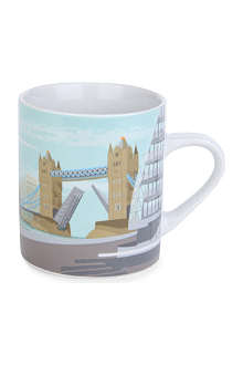 CUBIC Tower Bridge London mug