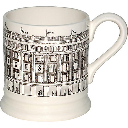 EMMA BRIDGEWATER Selfridges Building mug