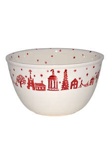 EMMA BRIDGEWATER Christmas Town pudding basin