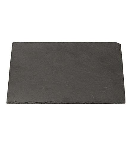 BROSTE Rectangular large slate plate