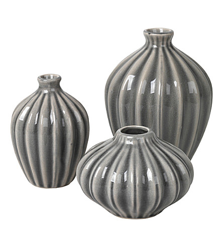 BROSTE Amalie ceramic vases set of 3