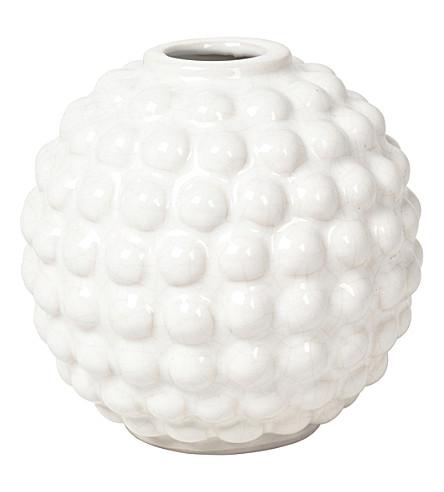 BROSTE Dotty round ceramic vase