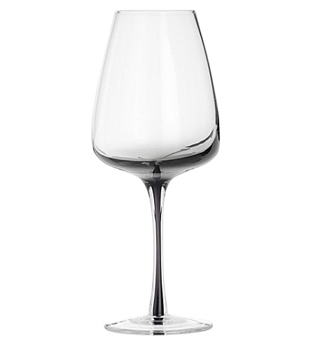BROSTE Smoke white wine glass