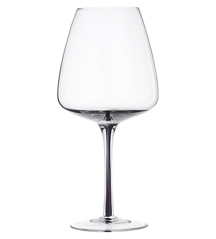BROSTE Smoke red wine glass