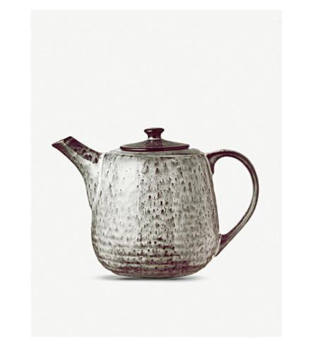 BROSTE Nordic Sea stoneware teapot