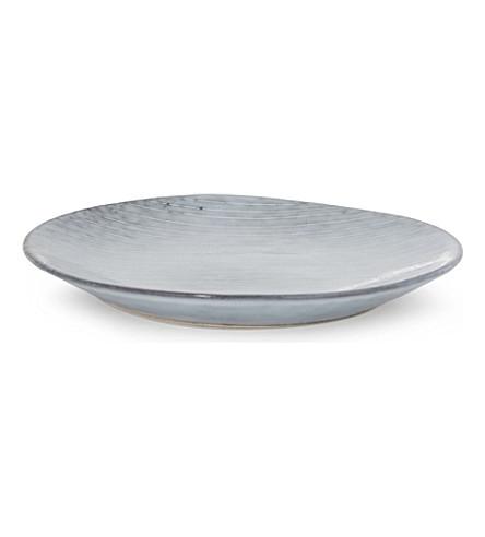 BROSTE Nordic seaside stoneware plate