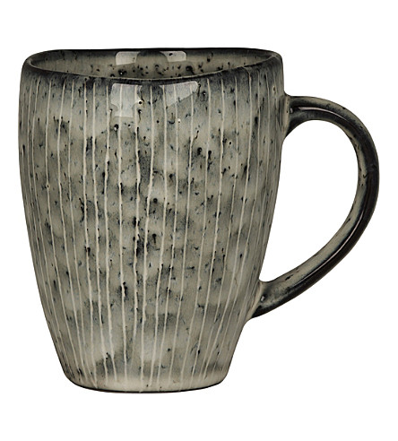BROSTE Nordic sea stoneware mug with handle